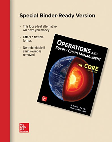 OPERATIONS+SUPPLY CHAIN MGMT.:CORE (LL) N/A 9781259671005 Front Cover