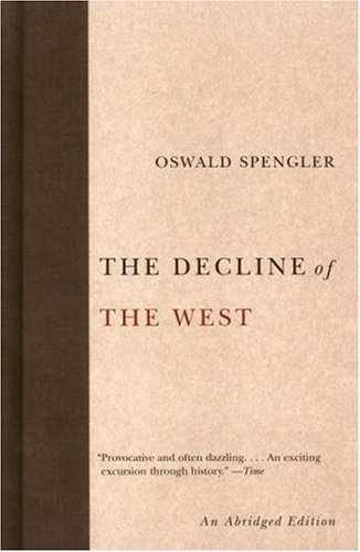 Decline of the West  Abridged edition cover