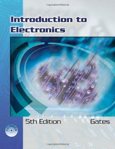 Introduction to Electronics  5th 2007 (Revised) edition cover