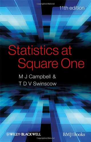 Statistics at Square One  11th 2010 edition cover