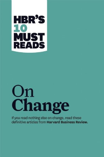 On Change Management   2011 edition cover
