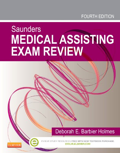 Saunders Medical Assisting Exam Review  4th 2014 edition cover