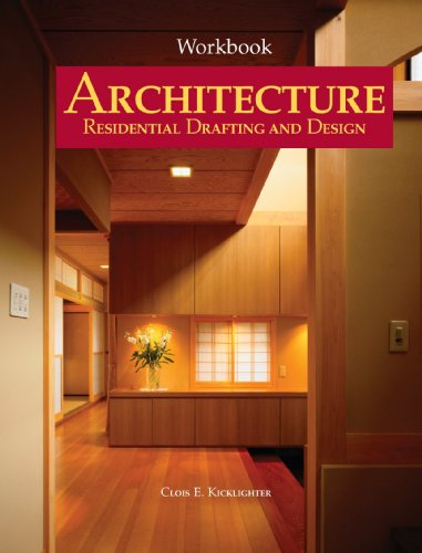 Architecture Residential Drafting and Design 10th 2008 (Workbook) edition cover