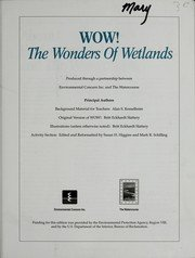 Wow! the Wonders of Wetlands Vol. 1 : The Everglades 1st edition cover