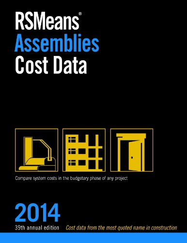 Rsmeans Assemblies Cost Data 2014:   2013 edition cover