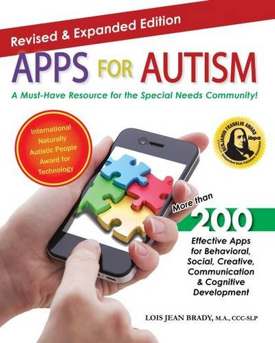 Apps for Autism - Revised and Expanded An Essential Guide to over 200 Effective Apps!  2015 9781941765005 Front Cover