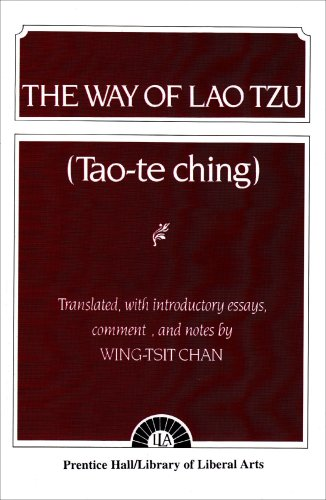Way of Lao Tzu   1963 edition cover