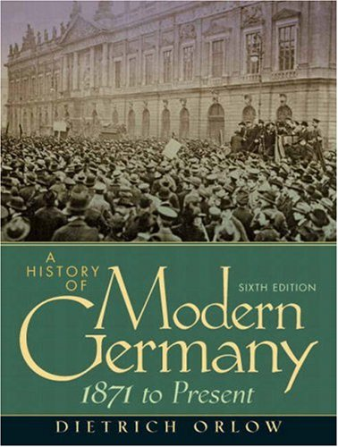 History of Modern Germany 1871 to Present 6th 2008 edition cover