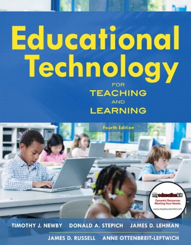 Educational Technology for Teaching and Learning (with MyEducationKit)  4th 2011 9780137074006 Front Cover