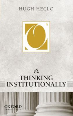 On Thinking Institutionally   2011 edition cover
