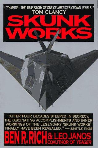 Skunk Works A Personal Memoir of My Years of Lockheed  1994 edition cover