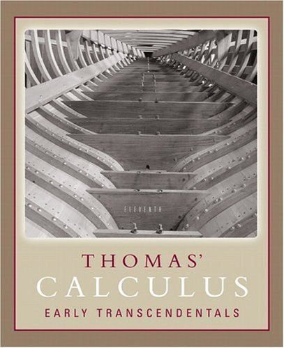 Thomas' Calculus Early Transcendentals  11th 2006 (Revised) edition cover