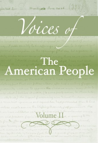 Voices of the American People   2006 edition cover