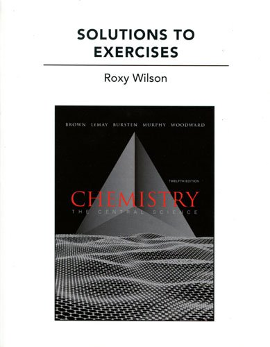 Solutions to Exercises for Chemistry: The Central Science  2011 edition cover