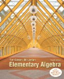 Elementary Algebra  4th 2015 edition cover
