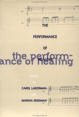 Performance of Healing   1996 edition cover