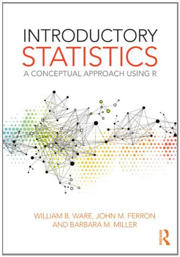 Introductory Statistics A Conceptual Approach Using R  2013 edition cover