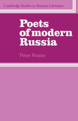 Poets of Modern Russia   1982 9780521280006 Front Cover