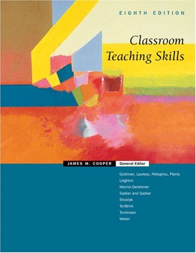 Classroom Teaching Skills  8th 2006 edition cover