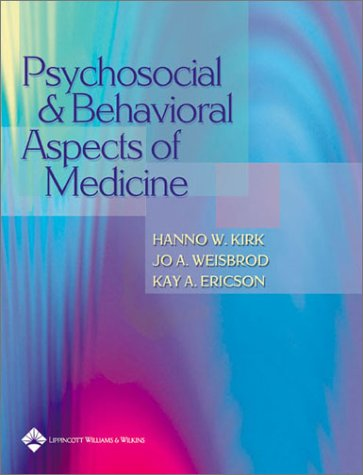 Psychosocial and Behavioral Aspects of Medicine   2003 edition cover