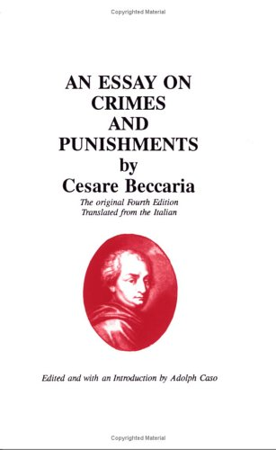On Crimes and Punishments  N/A edition cover