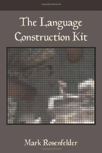 Language Construction Kit   2010 edition cover