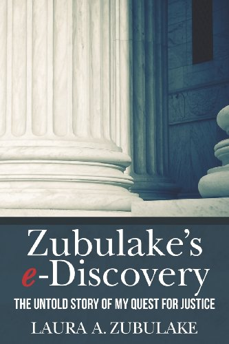 Zubulake's E-Discovery  N/A edition cover
