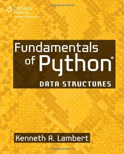 Fundamentals of Python Data Structures  2014 edition cover