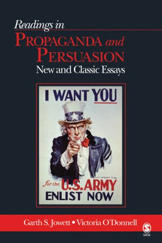 Readings in Propaganda and Persuasion New and Classic Essays  2006 edition cover