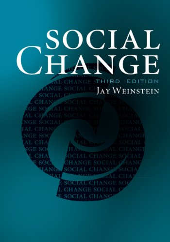 Social Change  3rd 2010 (Revised) 9781442203006 Front Cover