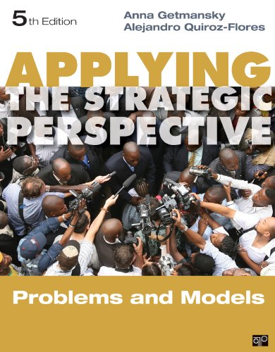 Applying the Strategic Perspective Problems and Models 5th 2014 (Revised) edition cover
