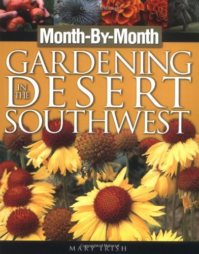 Gardening in the Desert Southwest   2003 edition cover