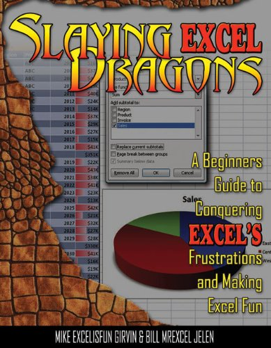 Slaying Excel Dragons A Beginners Guide to Conquering Excel's Frustrations and Making Excel Fun  2011 edition cover