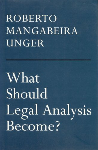 What Should Legal Analysis Become?   1996 edition cover