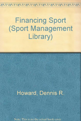 Financing Sport   1995 edition cover