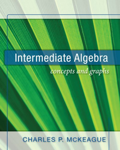 Intermediate Algebra Concepts and Graphs N/A edition cover