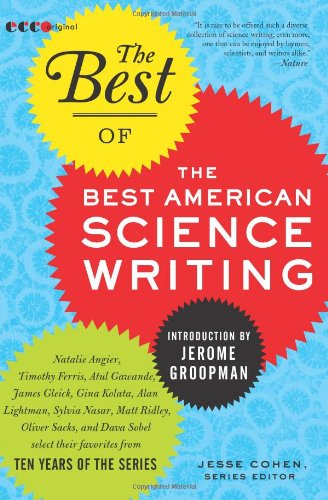 Best of the Best of American Science Writing   2010 9780061875007 Front Cover