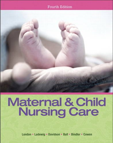 Maternal and Child Nursing Care  4th 2014 edition cover
