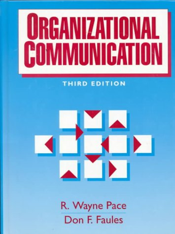 Organizational Communication  3rd 1994 (Revised) edition cover