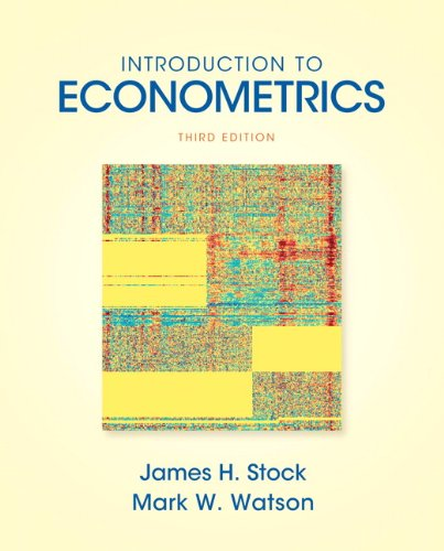 Introduction to Econometrics  3rd 2011 9780138009007 Front Cover