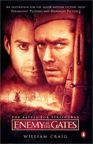 Enemy at the Gates The Battle for Stalingrad  2001 (Movie Tie-In) edition cover