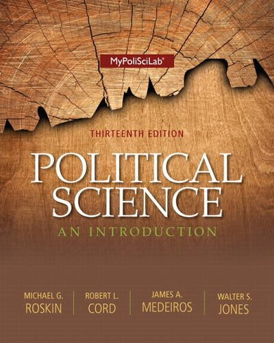 Political Science An Introduction 13th 2014 9780205978007 Front Cover