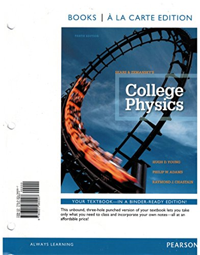COLLEGE PHYSICS (LOOSELEAF)             N/A edition cover