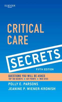 Critical Care Secrets  5th 2012 edition cover
