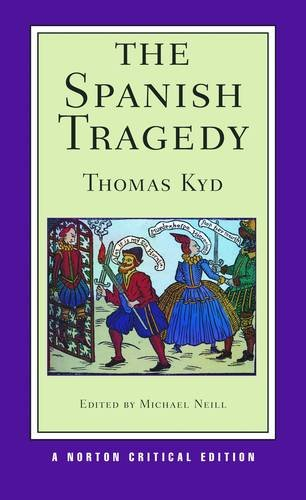 Spanish Tragedy   2013 edition cover