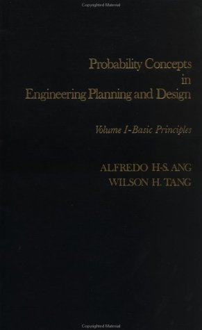 Probability Concepts in Engineering Planning and Design Basic Principles  1975 9780471032007 Front Cover