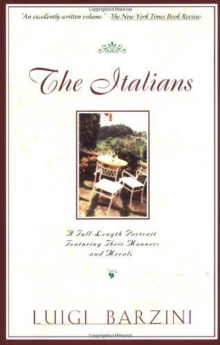 Italians   1996 edition cover