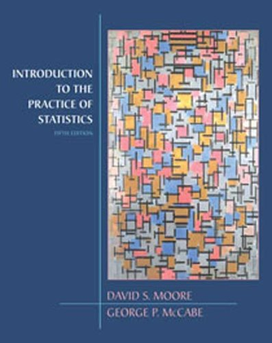 Introduction to the Practice of Statistics  5th 2006 edition cover