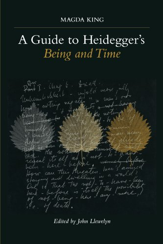 Guide to Heidegger's Being and Time   2001 edition cover