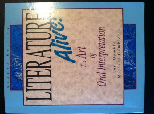 Literature Alive!  2nd 1994 edition cover